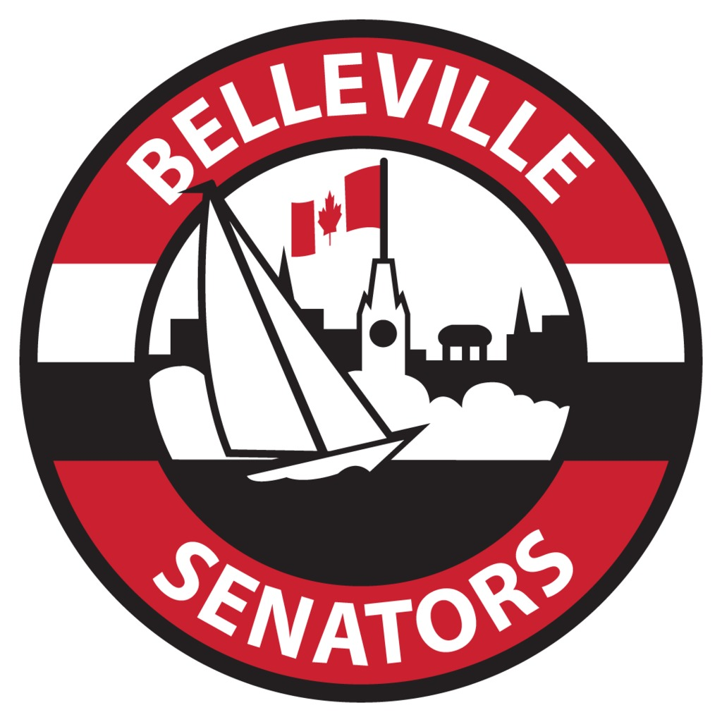 Secondary Jersey Logo - Belleville Senators